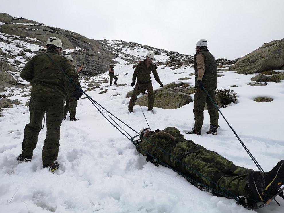 Finaliza su tarea en Benasque la Campaña Antártica del Ejército de Tierra