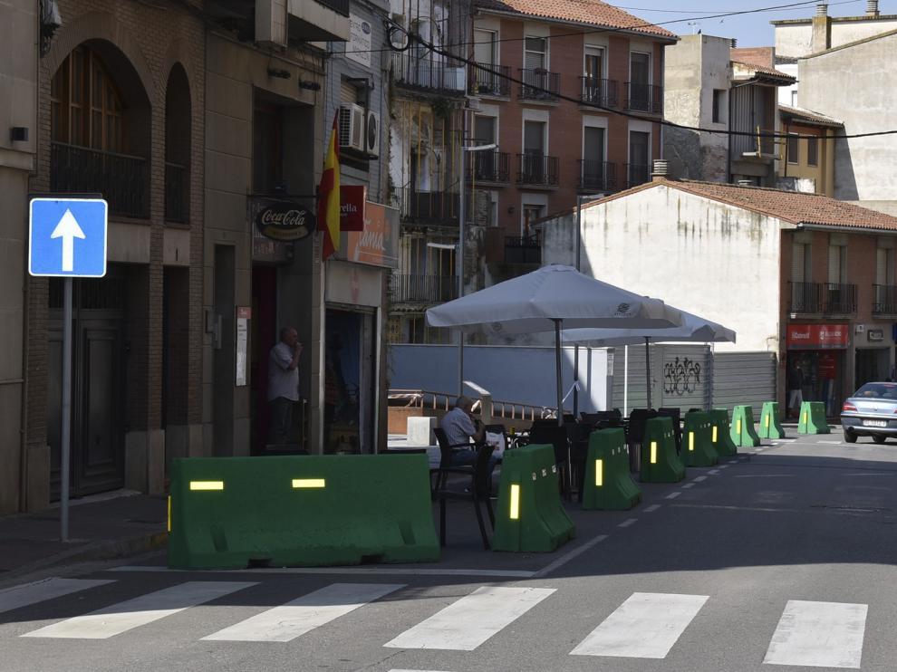 A licitación la redacción del proyecto de renovación de la avenida del Pilar y calle Santa Bárbara en Monzón