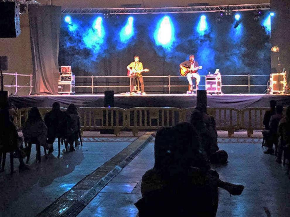 Artistas locales, el Mago Marín y Campi qui Pugui cierran el OtoñoFest de Fraga