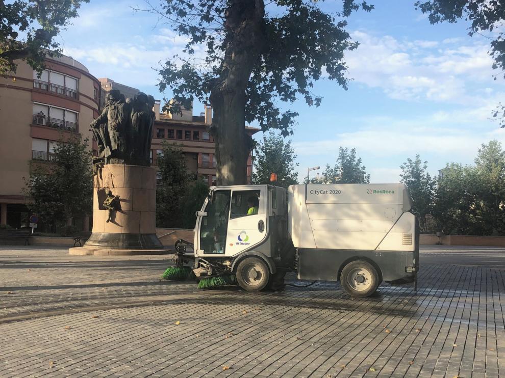 Monzón quiere mejorar la limpieza de sus calles