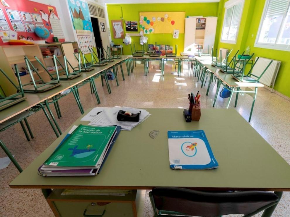 Cerradas nueve aulas de seis centros educativos de la provincia de Huesca a causa de la covid en una semana