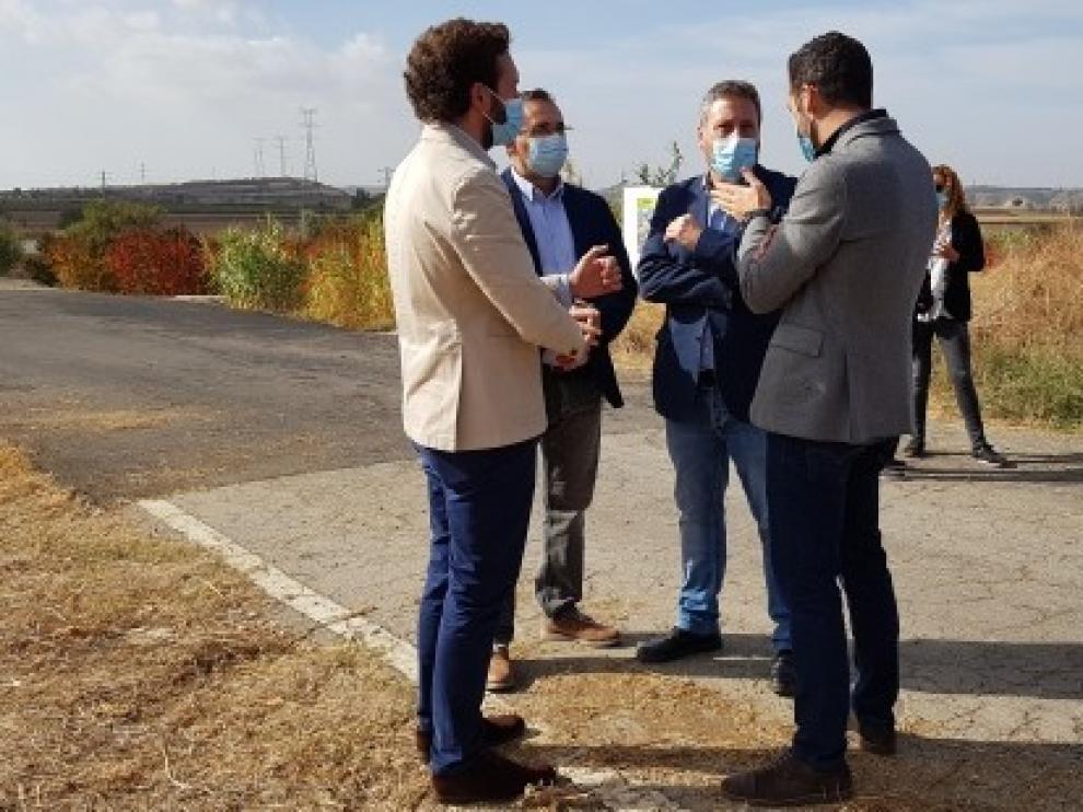 Inaugurado el tramo acondicionado de carretera entre Fonz-Monzón
