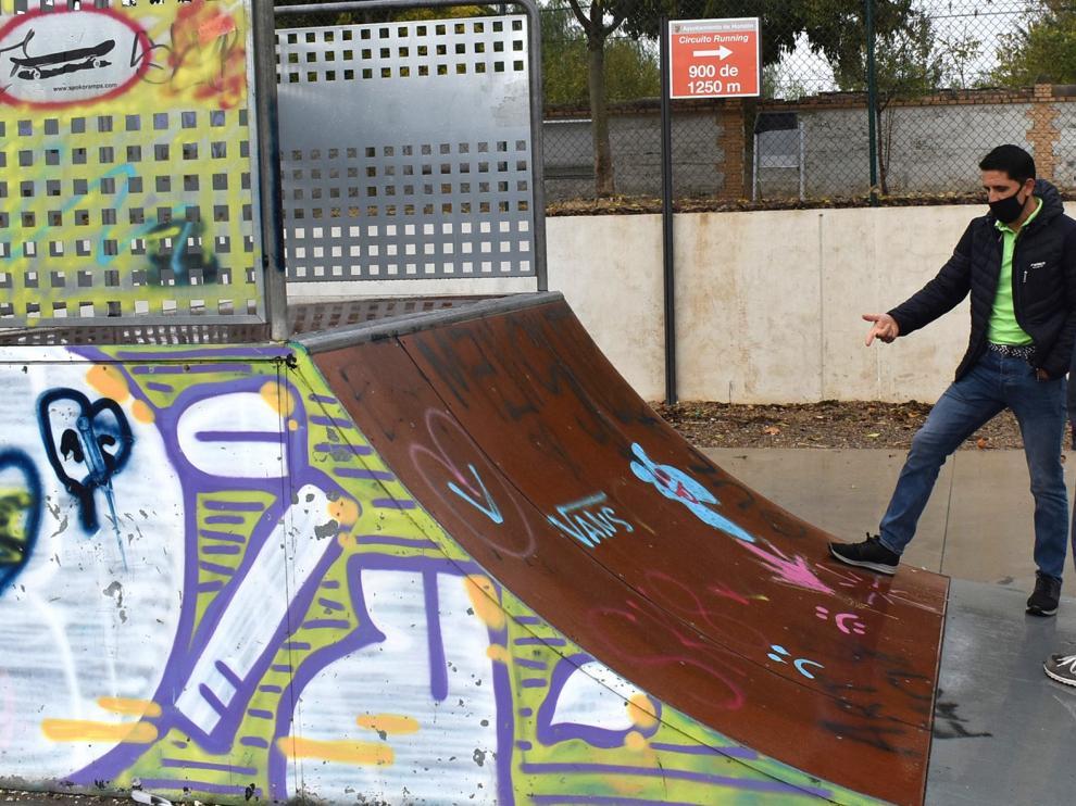 El Ayuntamiento de Monzón proyecta una mejora integral del entorno de la pista de skate