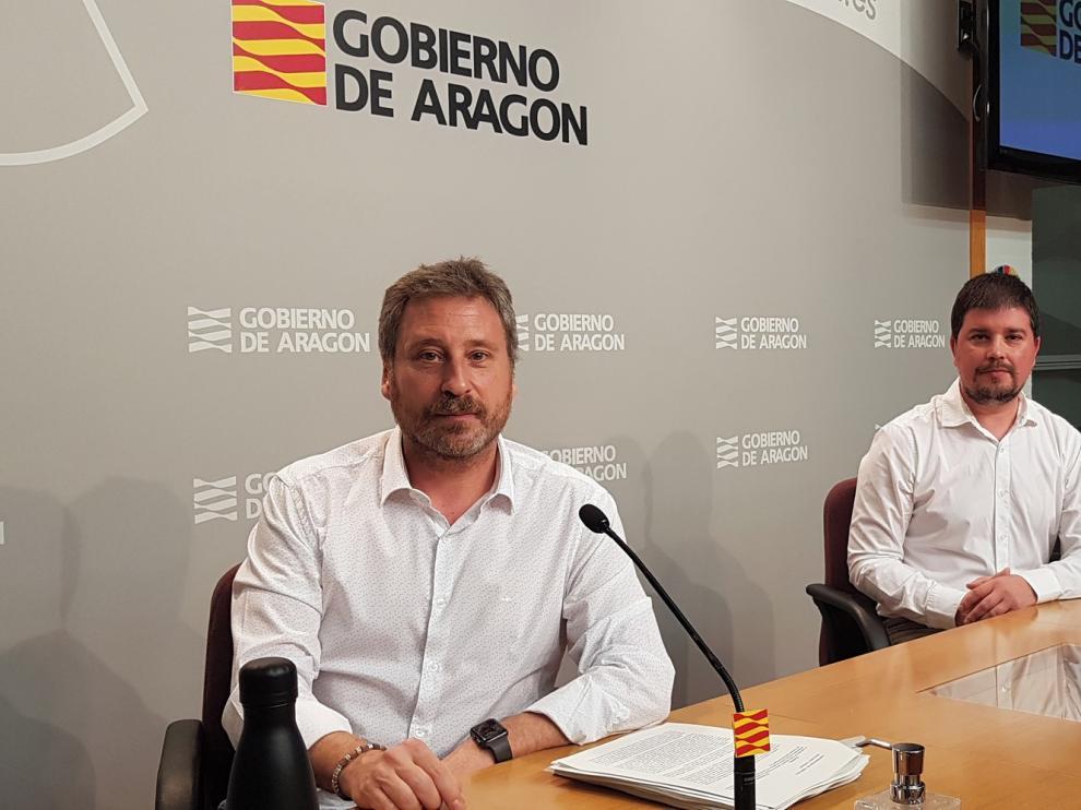 """Soro: """"En 2020 se está dando el impulso más decidido al aeropuerto de Teruel"""""""