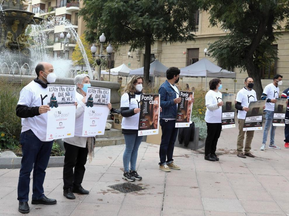 Cáritas Huesca exige vivienda digna y promoción del alquiler social