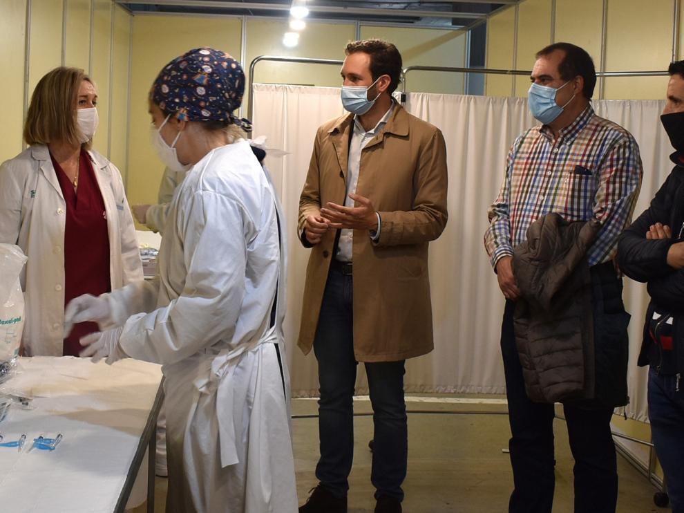 """El Ayuntamiento de Monzón crea un """"espacio sanitario"""" en la planta baja del parquin público"""