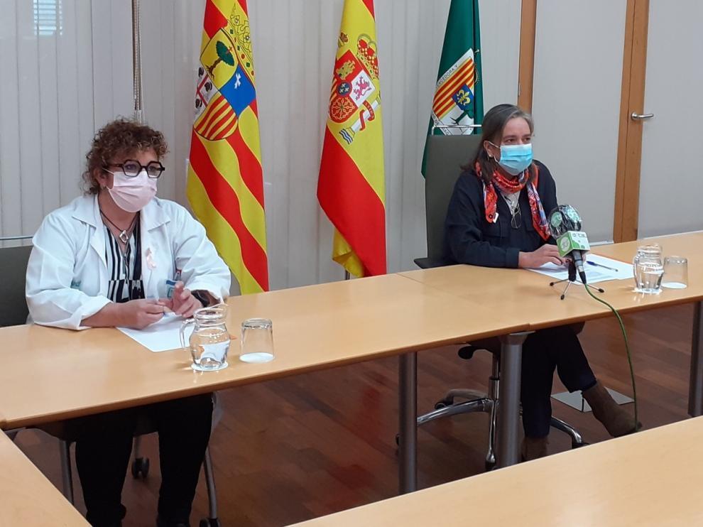 Los sanitarios de Fraga hacen un llamamiento a la población para colaborar en el rastreo de casos