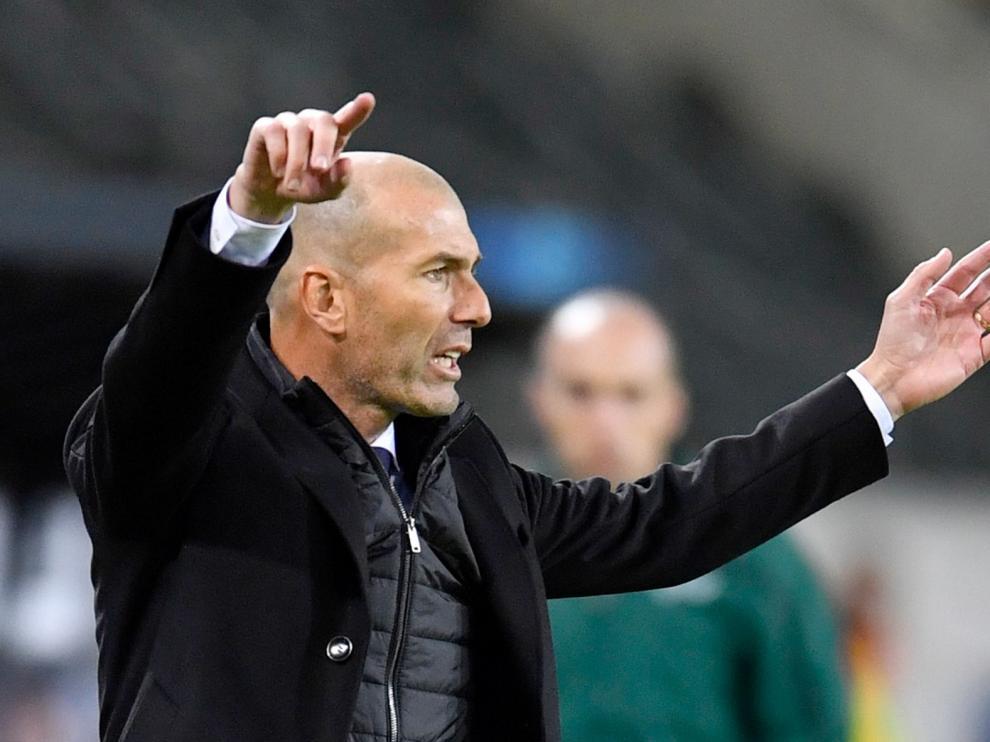 """Zinedine Zidane, ante el encuentro liguero contra el Huesca: """"Es una final"""""""