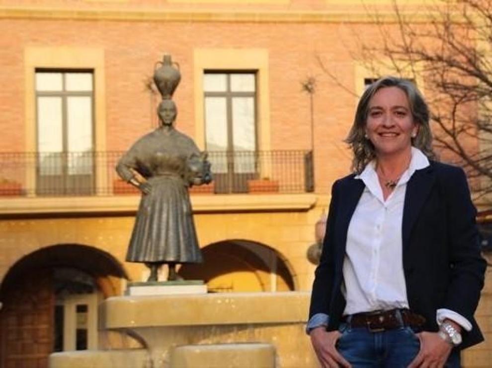 La alcaldesa de Fraga apela a la responsabilidad individual