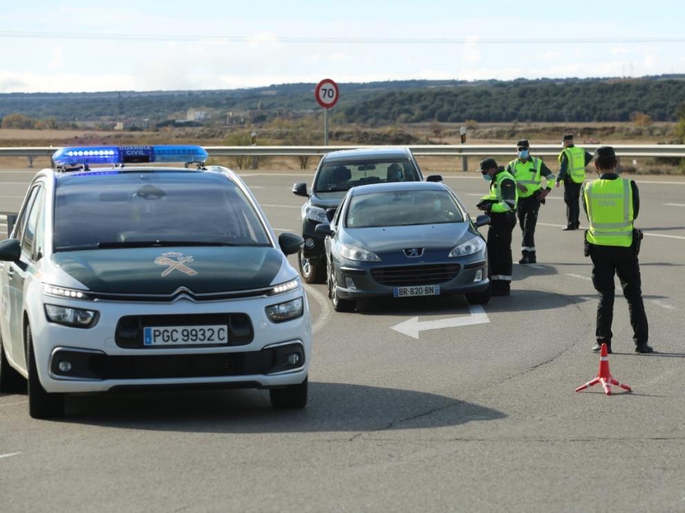 Siguen con los controles en las proximidades de Huesca por el confinamiento perimetral