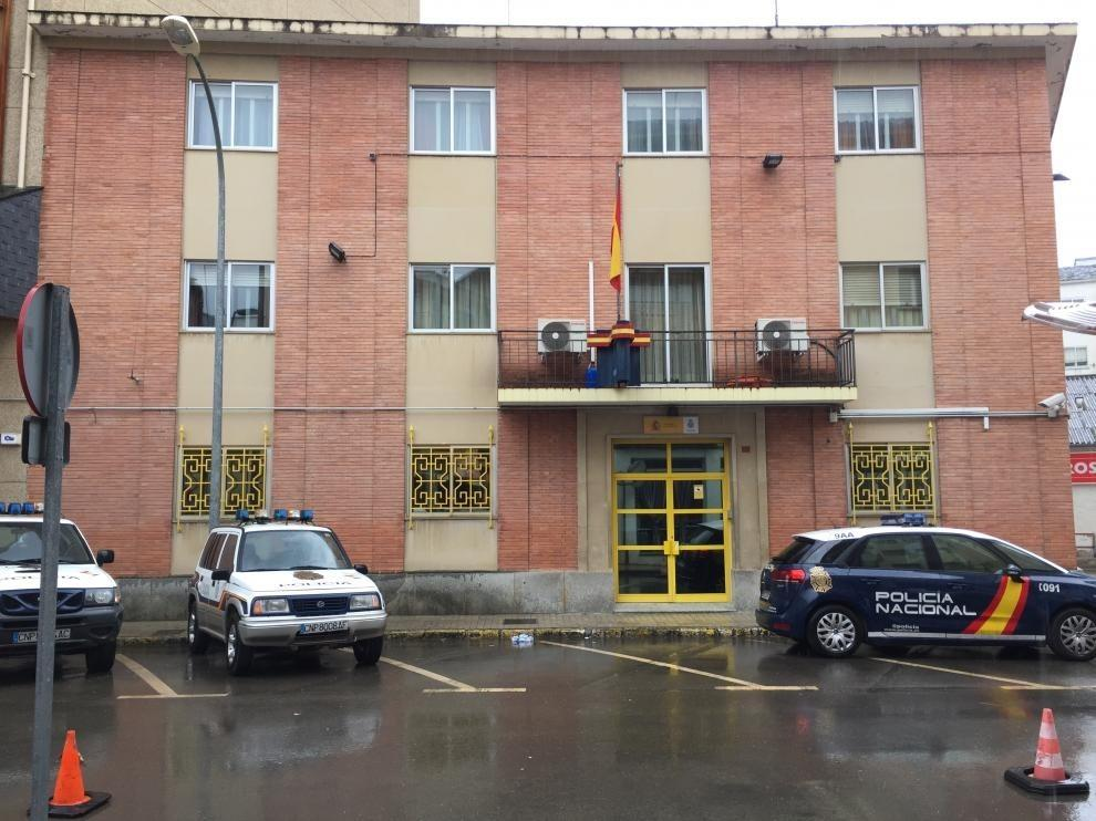 Ciudadanos Jaca, satisfecho con la obra de la comisaría de la Policía Nacional