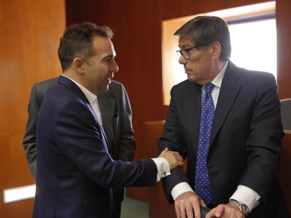 """El PAR de Monzón celebra la intención del """"Puerto de Barcelona"""" de invertir más en la terminal de Monzón"""