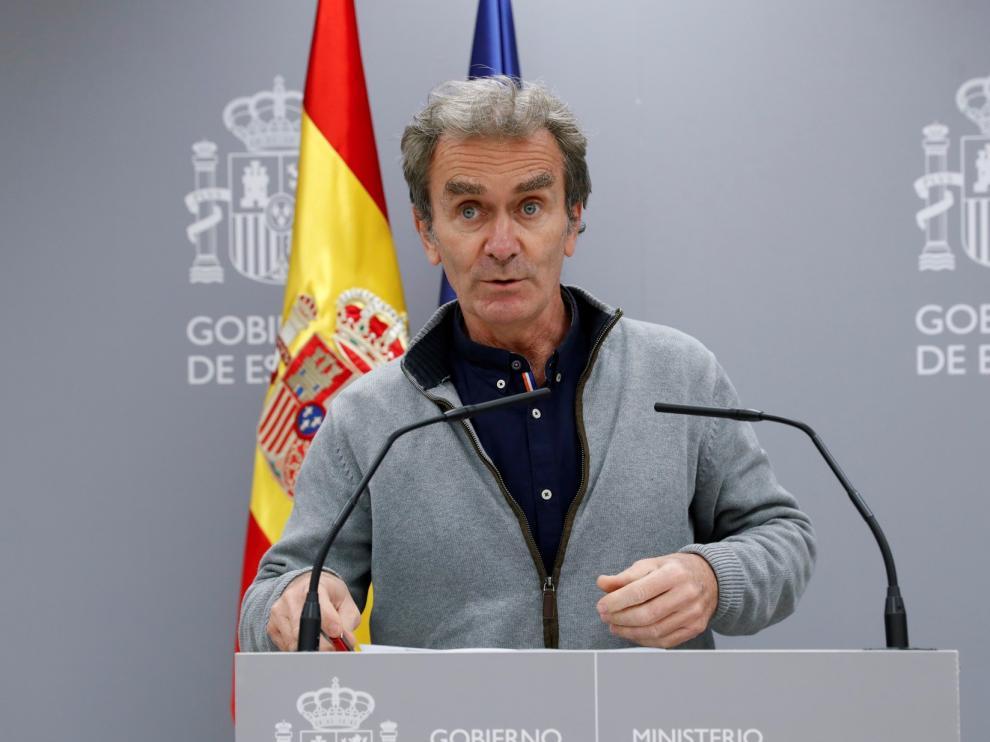 """Fernando Simón: """"Creo que el tiempo pondrá cada cosa en su sitio"""""""