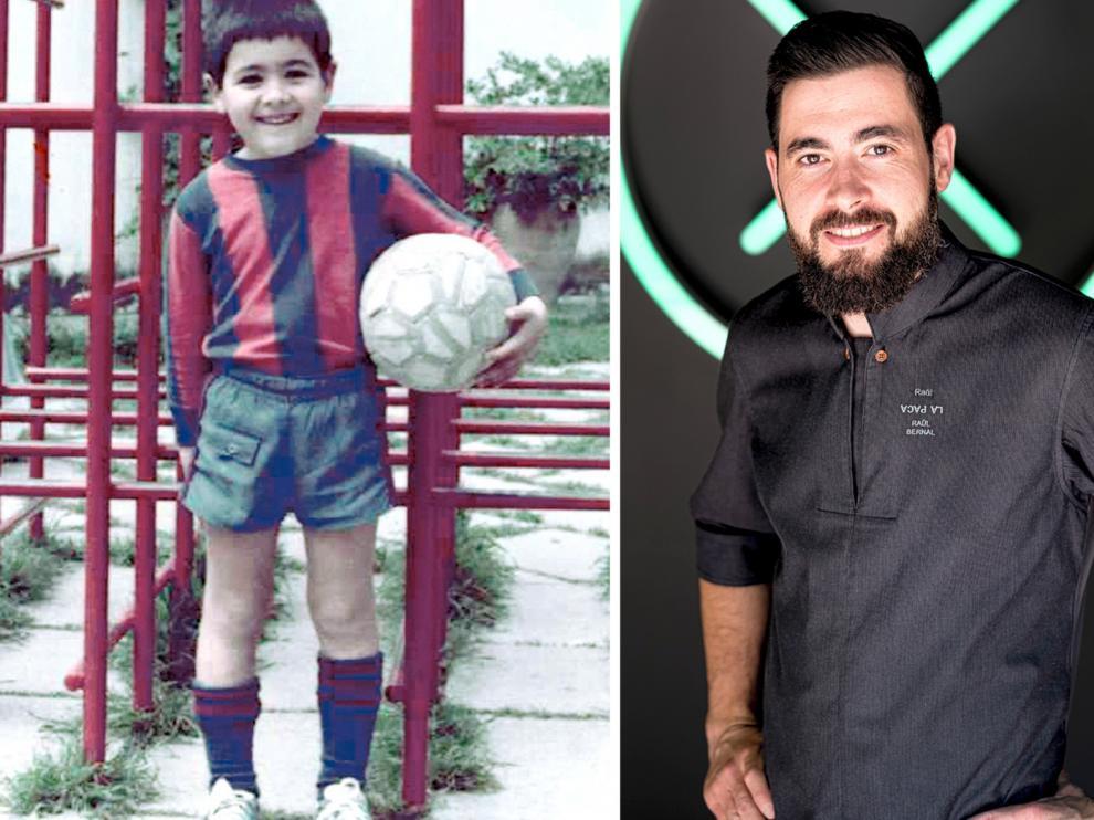 Raúl Bernal Belarra: Un niño artista que encontró el chocolate