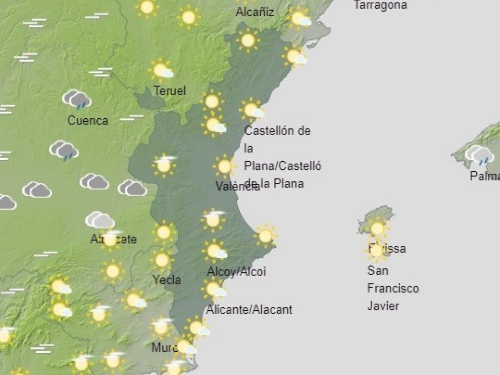 La Aemet anuncia cielo nuboso en el Pirineo y precipitaciones al final del día