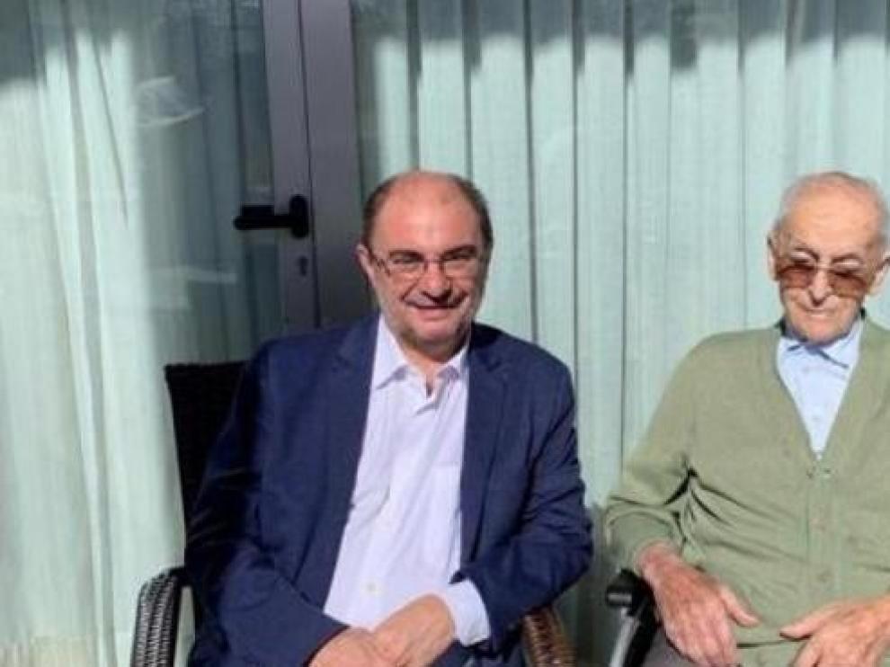 Fallece el padre de Javier Lambán a los 97 años