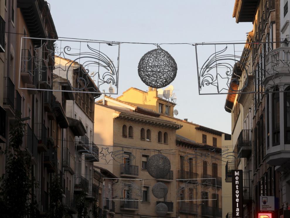 La ciudad de Huesca encenderá las luces navideñas este viernes