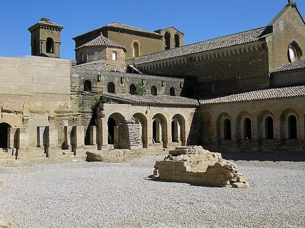 El Monasterio de Sijena recuperará las visitas a finales de año o en enero