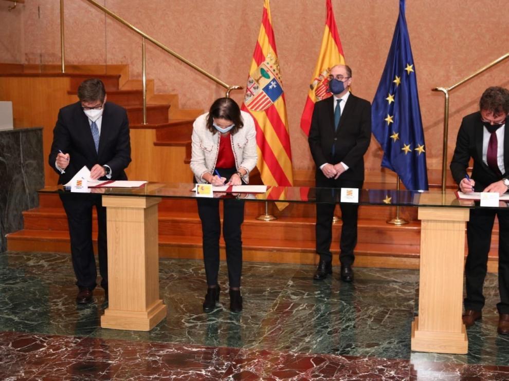 Inyección de 2,3 millones para apoyar y reforzar el turismo sostenible en Aragón