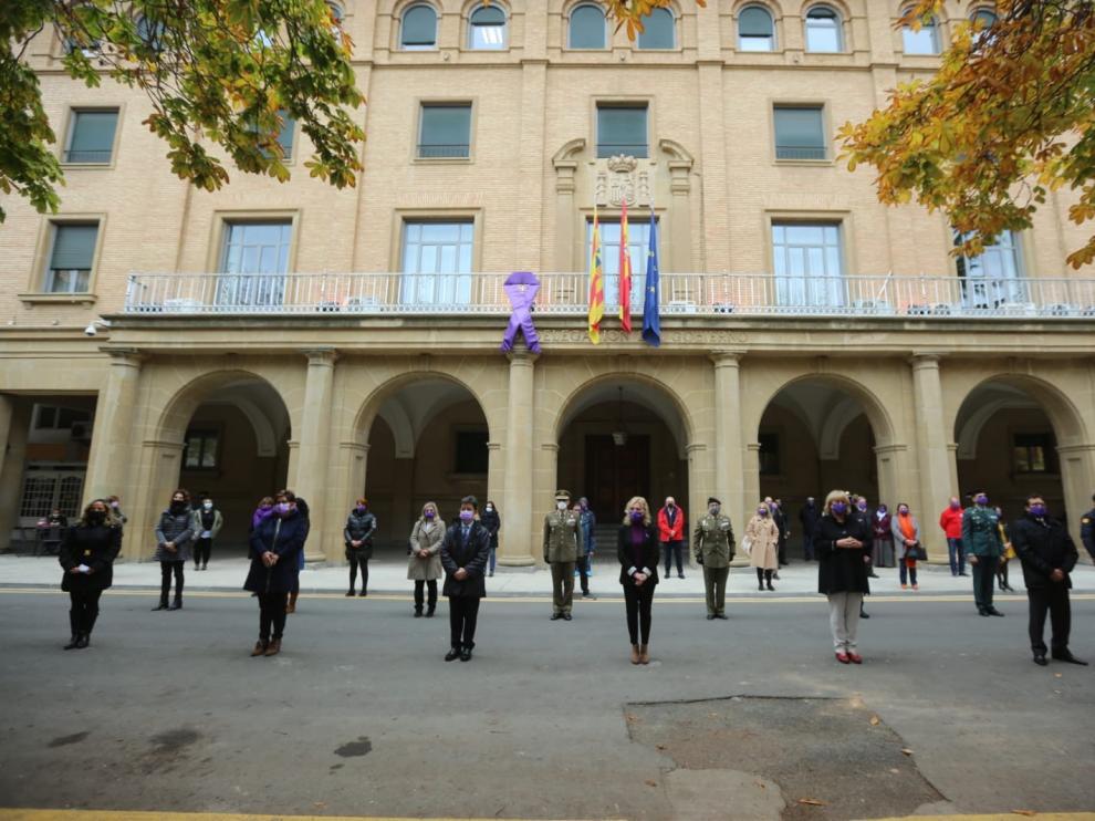 Huesca pide respuesta ante todas las formas de violencia machista