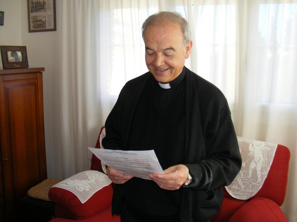 Fallece Alfonso Milián, obispo emérito de la diócesis de Barbastro-Monzón