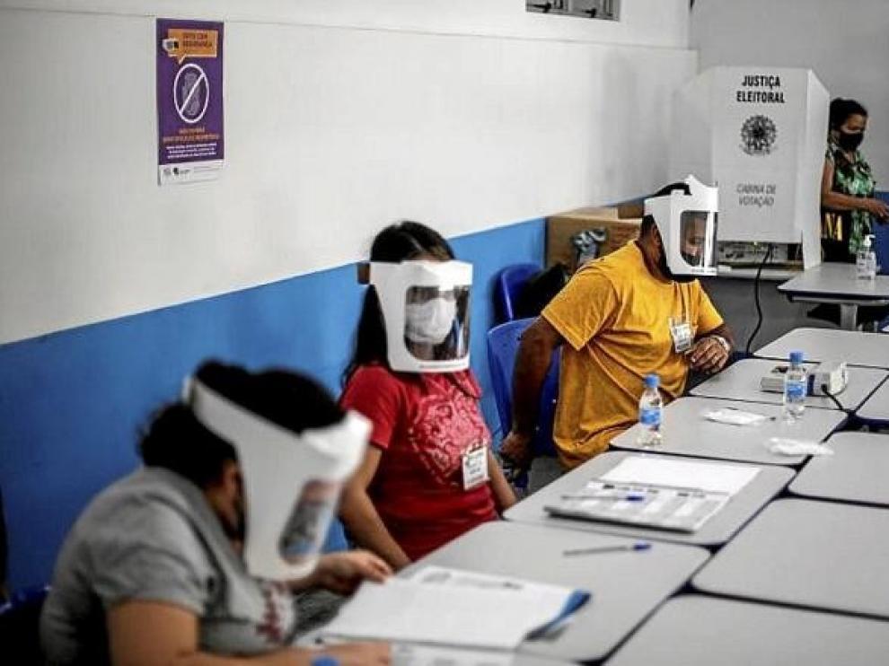 Sin incidentes durante la elección de las 57 alcaldías brasileñas