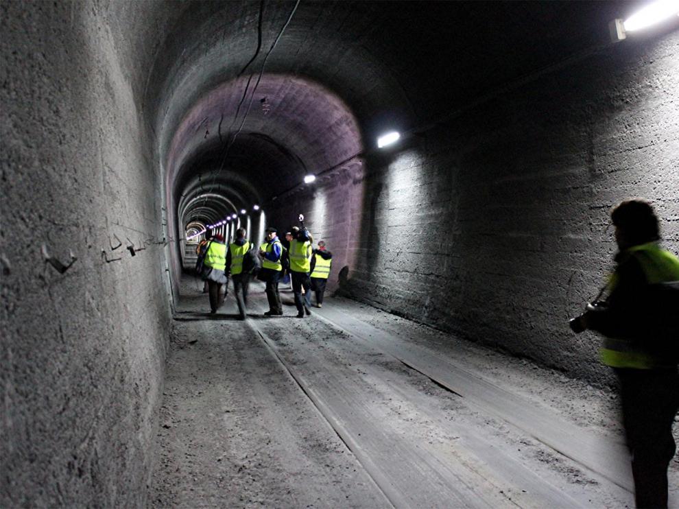 A licitación el estudio para la reapertura del túnel ferroviario de Somport