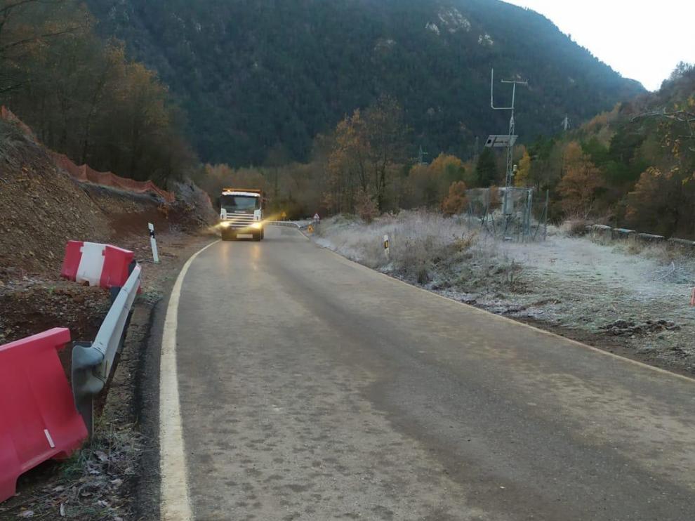 La N-260 entre el Congosto de Ventamillo y Campo ya se encuentra abierta al tráfico