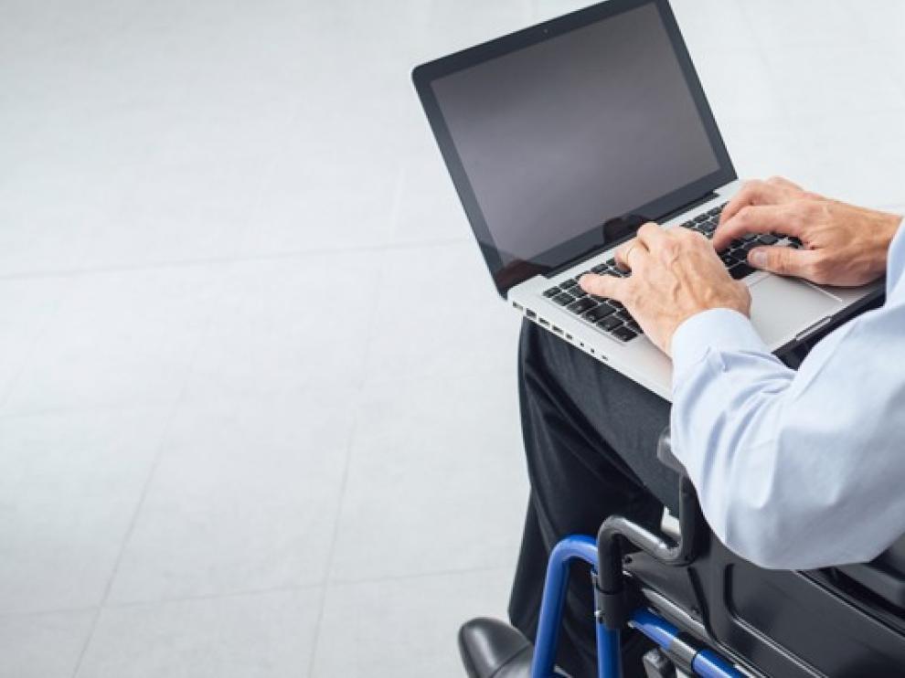 Los contratos a personas con discapacidad bajan un 16,5 % en Huesca