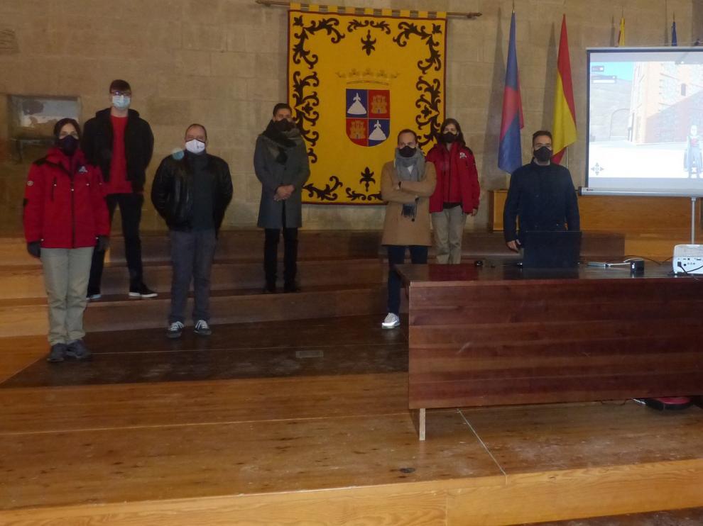 Presentan una herramienta de gamificación para visitar el Castillo de Monzón con avatares customizados