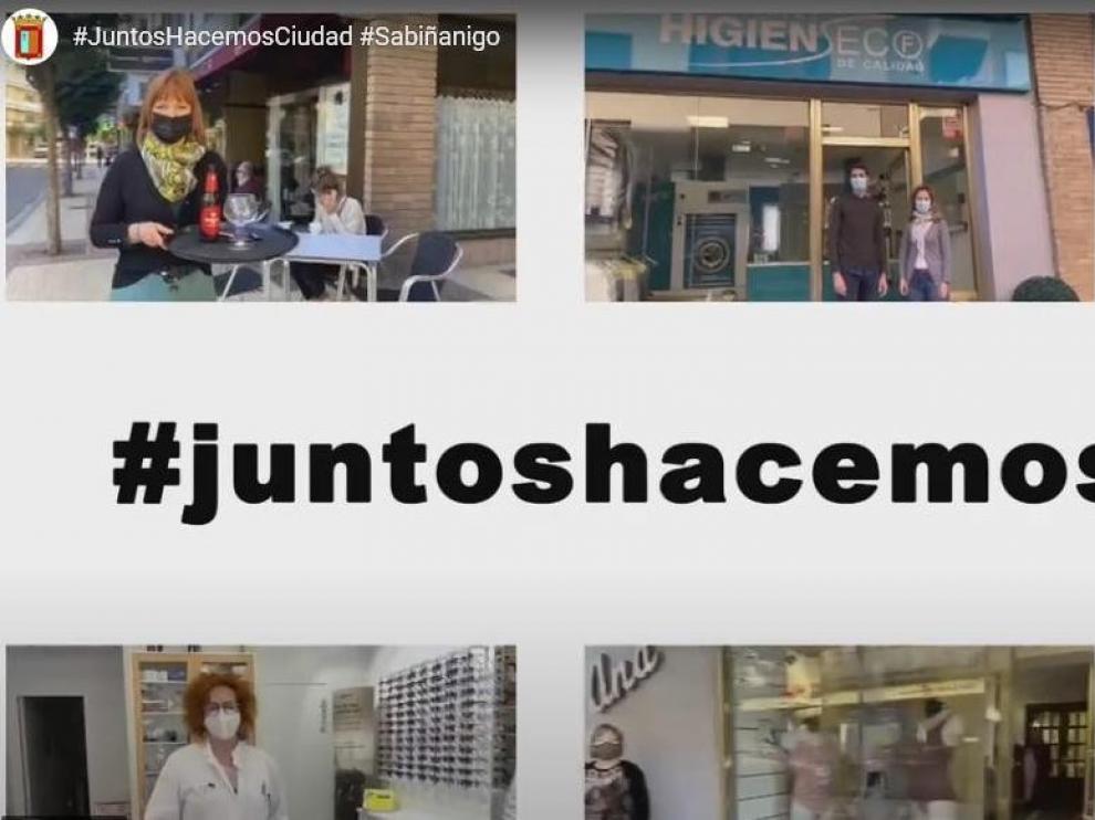 Sabiñánigo fomenta el comercio local con una nueva campaña