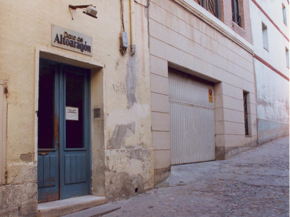 Nací a Huesca hace nada más 35 años