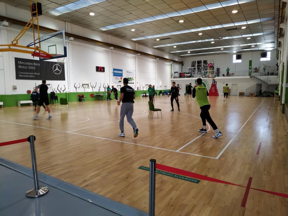 A Levitec Huesca ya no le faltan jugadores para entrenar