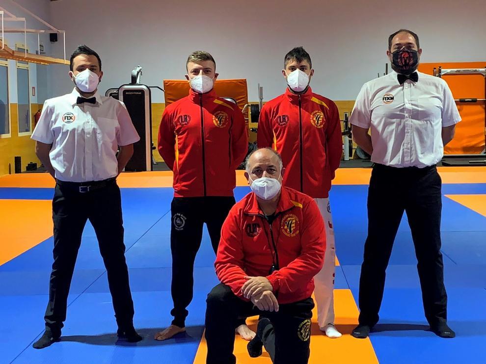 Sorinas y Alcoba, al nacional de Tatami-Sport de kickboxing