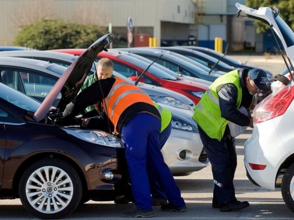 Las matriculaciones de vehículos caen un 35% en Aragón en lo que llevamos de año