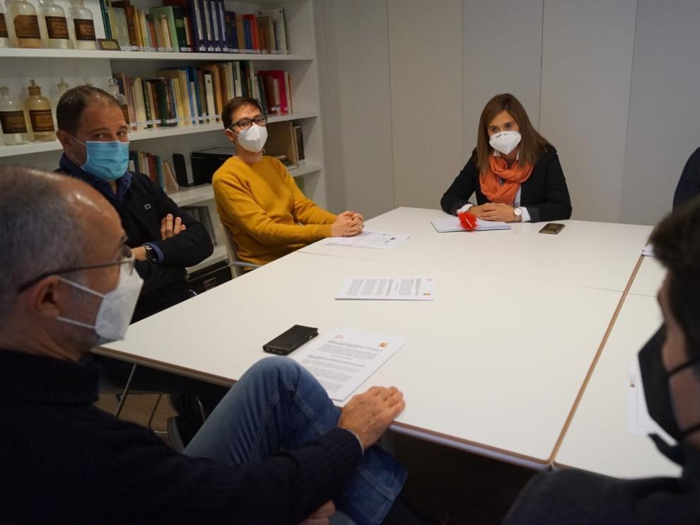 Cs Aragón reivindica el papel de los farmacéuticos para frenar la pandemia
