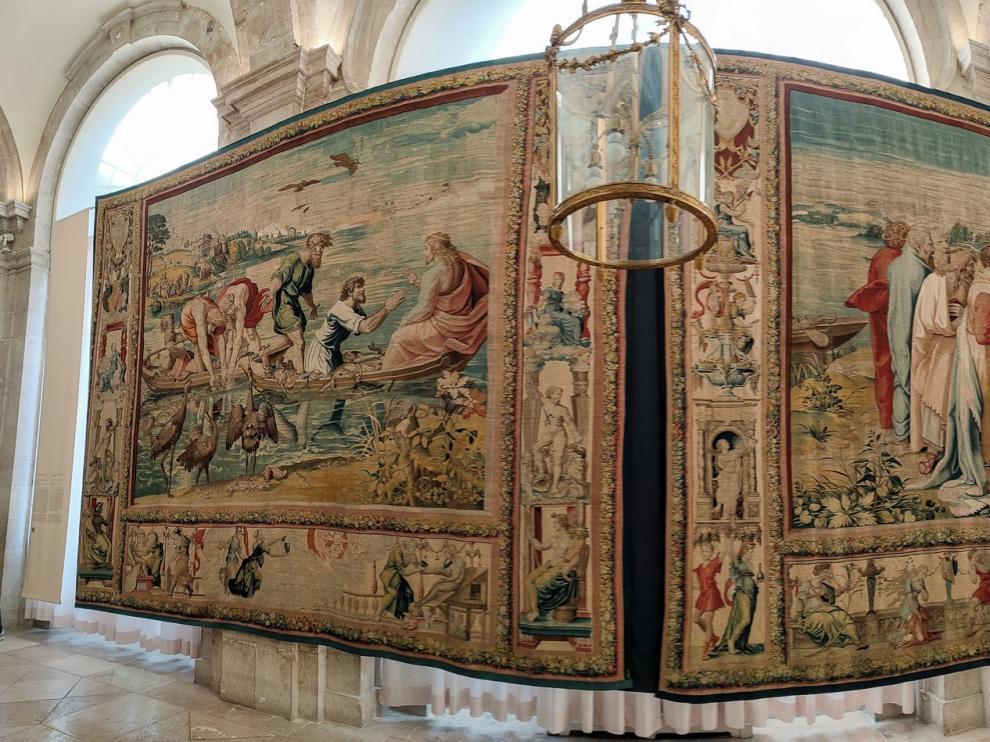 Un trozo de la Capilla Sixtina en el Palacio Real