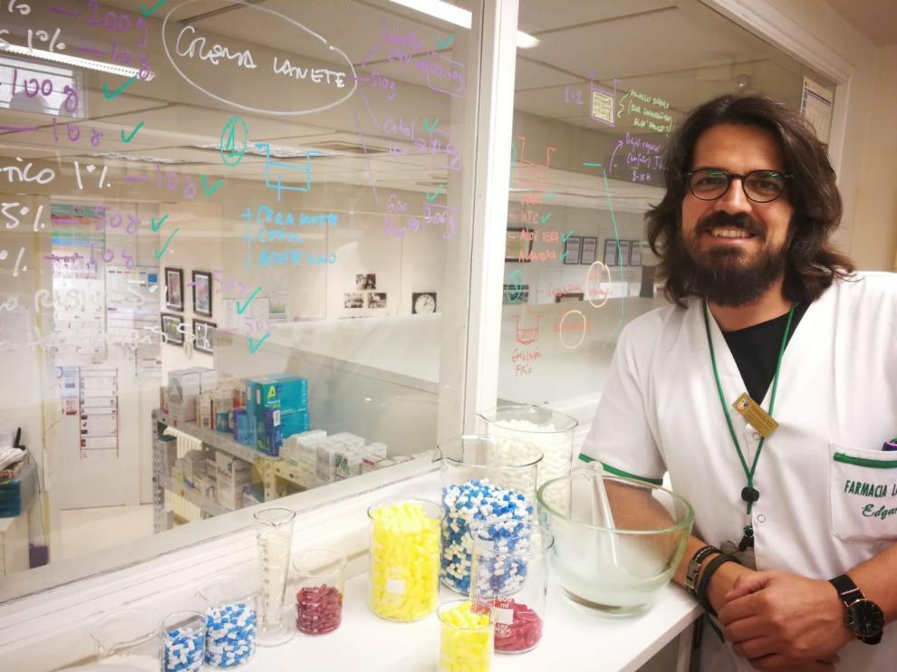 Reconocimiento al equipo de farmacéuticos del barbastrense Edgar Abarca por un estudio sobre la covid