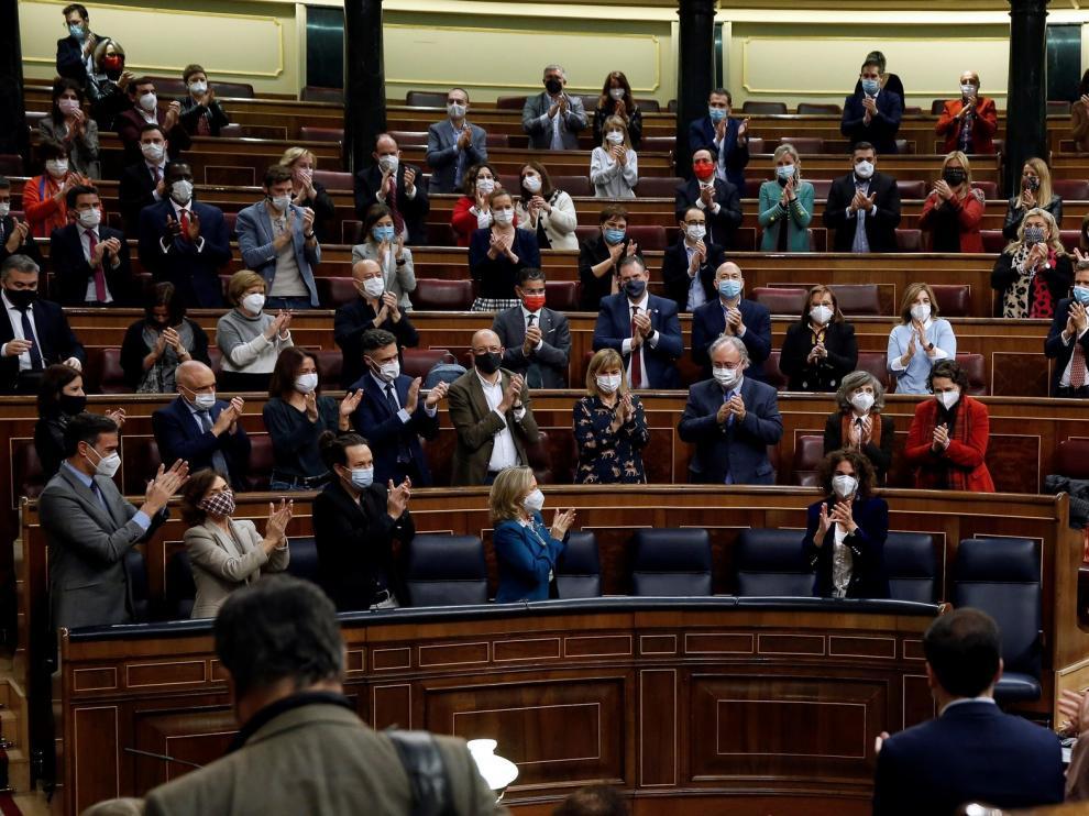 El Congreso aprueba con amplia mayoría los Presupuestos Generales de 2021