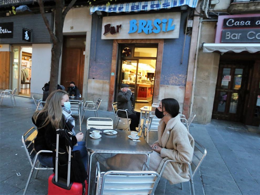 El Gobierno de Aragón valorará flexibilizar las medidas en hostelería la semana anterior a Navidad
