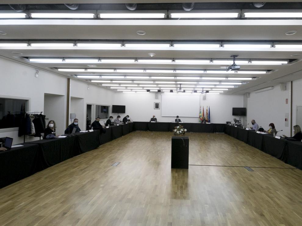El Observatorio covid continuará como una mesa de diálogo social en Huesca