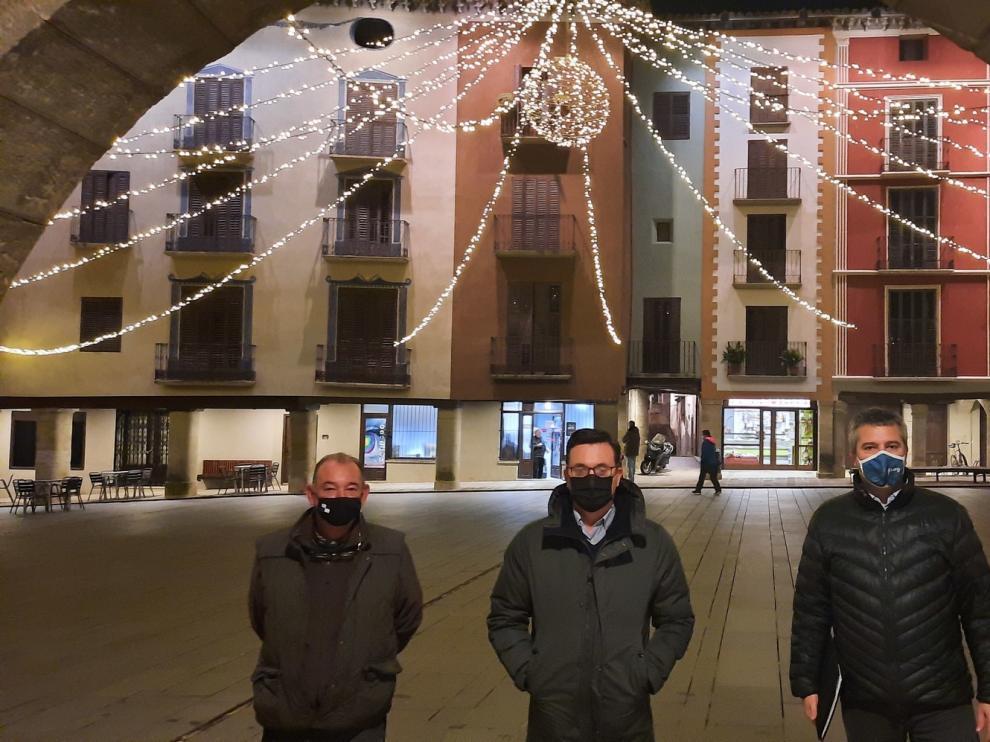 Graus renueva la iluminación navideña de sus calles y plazas
