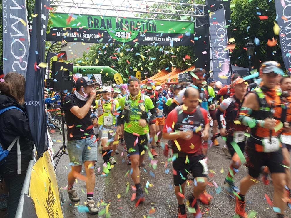 El Maratón Montañas de Benasque casi agota sus plazas en 24 horas