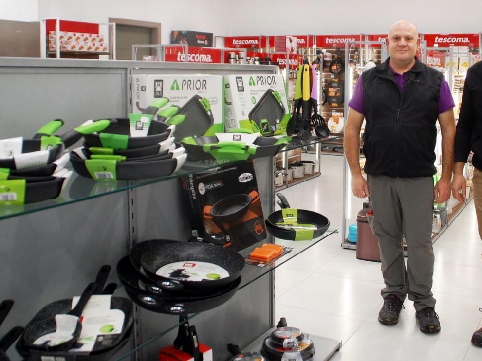 Electrodomésticos Monsobe amplía sus instalaciones en Sariñena en su décimo aniversario