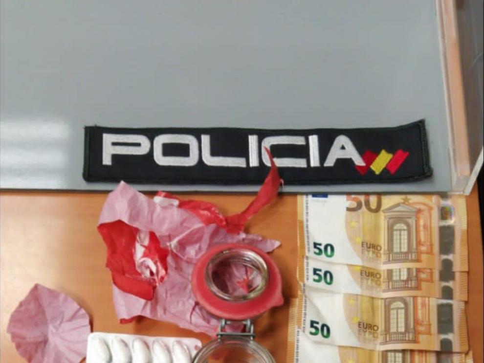 Detenido un joven en Huesca con droga tras una persecución