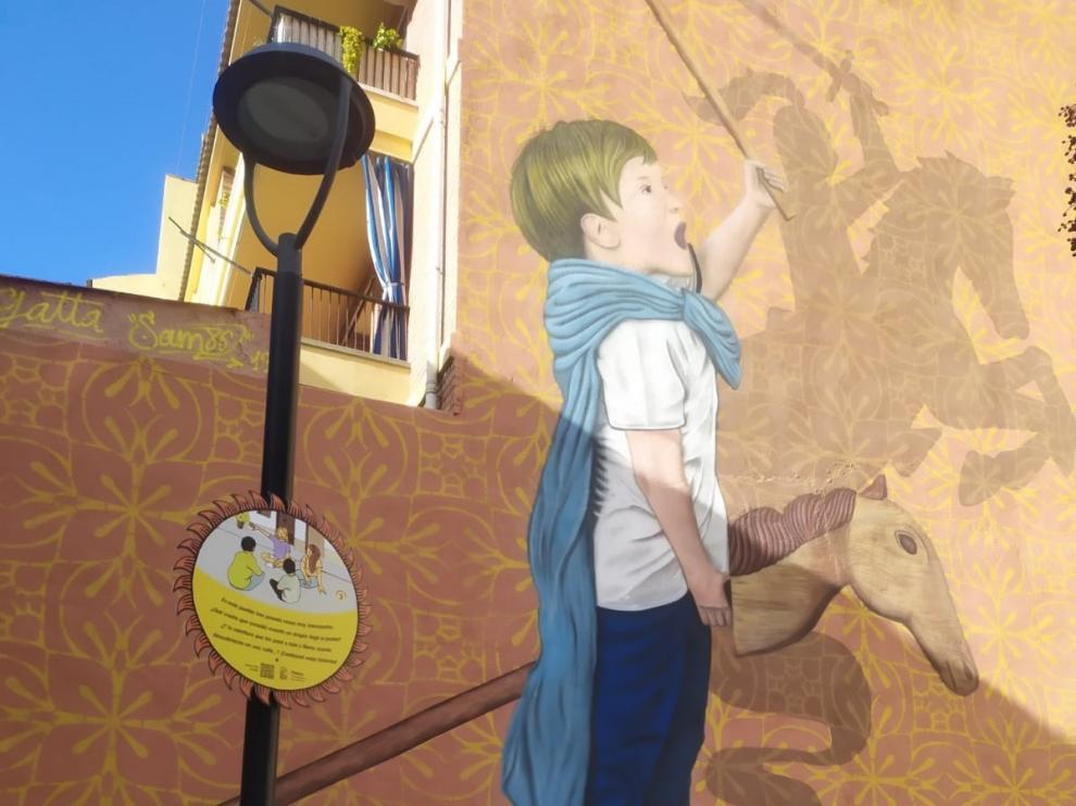 Un paseo de Juegos interactivos para las navidades en Fraga