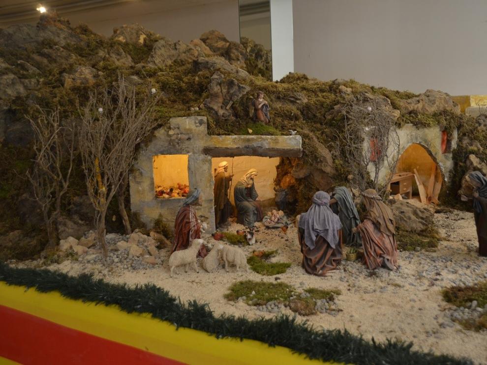 El Belén Tradicional de Barbastro abre sus puertas este domingo en Almacenes San Pedro