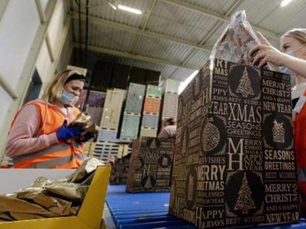 Caen un 16 % las contrataciones por la campaña de Navidad en Aragón