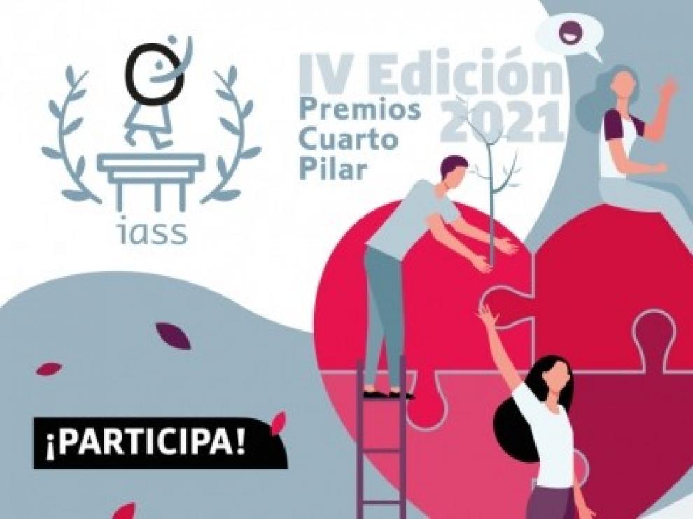 Abierto el plazo para presentar candidaturas a la IV edición de los Premios Cuarto Pilar del IASS