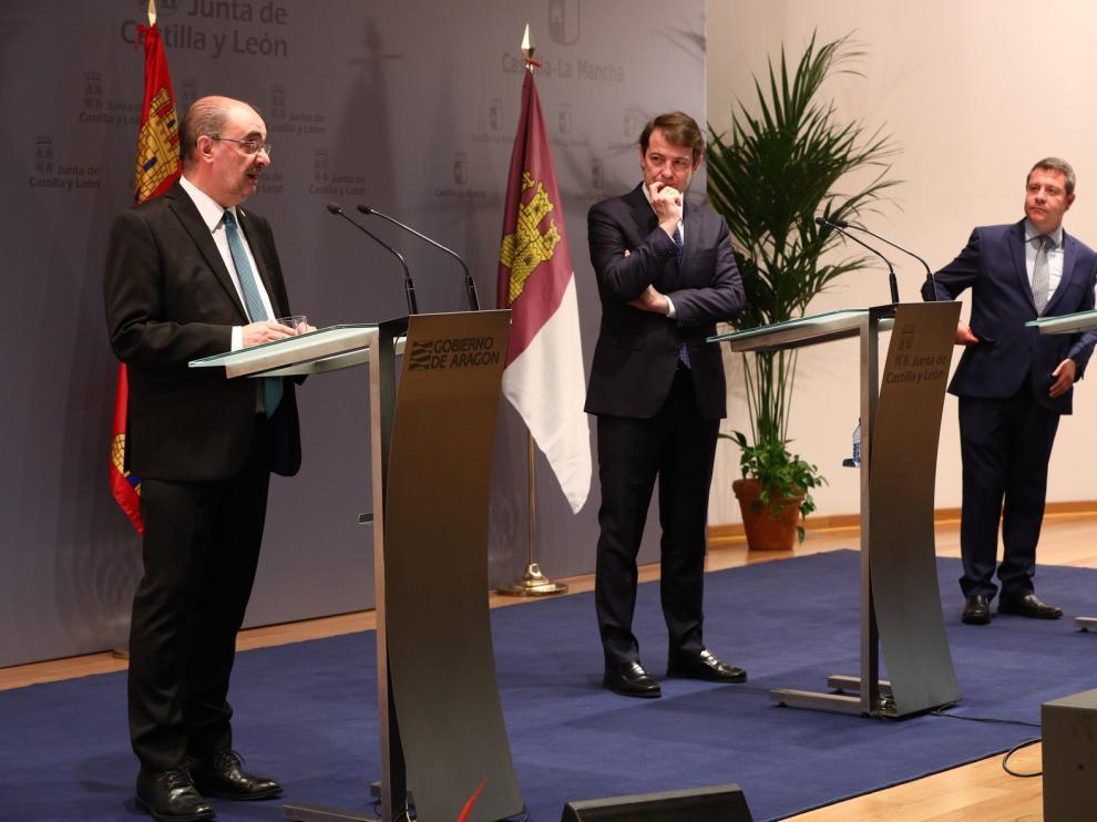 Castilla León, Aragón y Castilla-La Mancha reactivan el debate ante la reforma de financiación autonómica en 2021